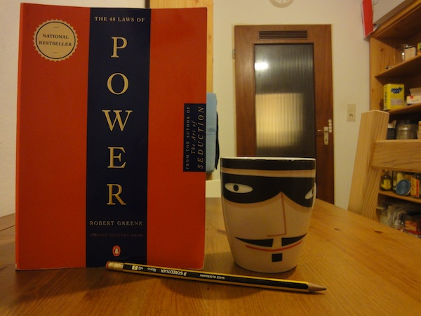 48 Laws of Power and My Favourite Coffee Cup